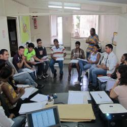 Equipe da Rede de Comunicadores do Semiárido, em Belo Horizonte (Minas Gerais)